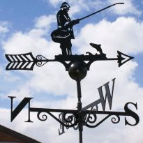 Weathervane Fly Fisherman