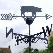 Weathervane Pig