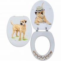 Loo Seat Border Terrier - by Bryn Parry