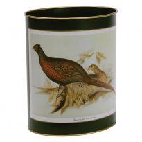 Pheasant Waste Paper Bin