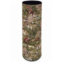Horses and Hounds Tapestry Umbrella Stand