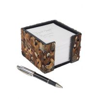 Feather Note Holder - Pheasant