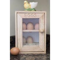 Wooden Egg Larder