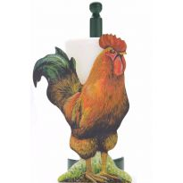 Cockerel Kitchen & Loo Roll Holders