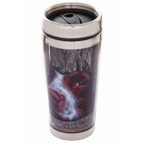 Travel Mug I Spy Spaniel