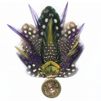 Feather Pin - Purple