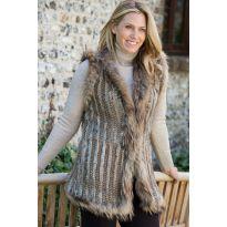 Longer Luxurious Fur Gilet