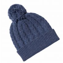 Lambswool Beanie Blue
