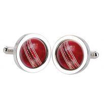 Cricket Seam Cufflinks