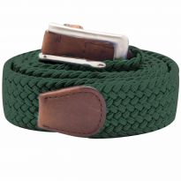 Stretch Corded Belts - Dark Green