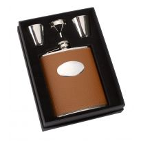 Hip Flask and Tot Set