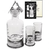 Broken Gun Mini Decanter set