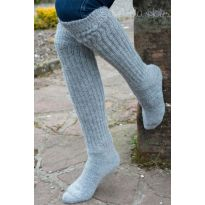 Ladies Soft Alpaca Knee high Socks