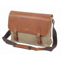 Laptop Satchel | Travel Bags | Canvas & Leather | FFF