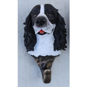 Springer Spaniel Black & White