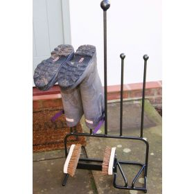 2 Pair Boot Rack with Jack and Brush