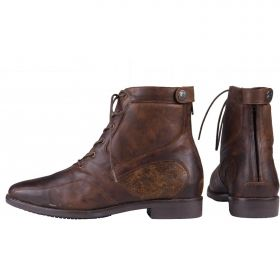 Horka Soft Leather Jodphur Boots Brown