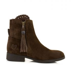 Spanish Style Ankle Boots With Tassel