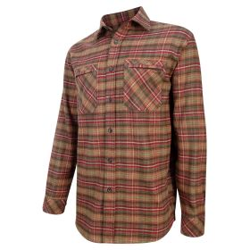Luxury Hunting Shirt (Countrysport) Rust Check