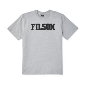 Filson Short Sleeve Outfitter Graphic T-Shirt - Grey Heather