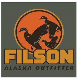Filson Short Sleeve Outfitter Graphic T-Shirt - Service Green