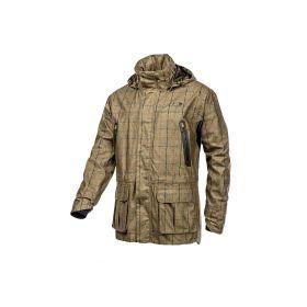 Baleno Moorland Khaki Tweed  Check Waterproof Jacket