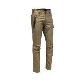 Baleno Holmes Khaki Tweed  Check Waterproof Trousers