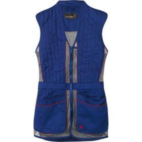 Seeland Skeet II Shooting Waistcoat - Blue