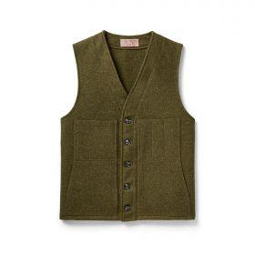 Filson Mackinaw Wool Vest - Forest Green