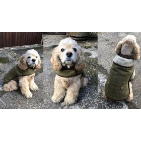 County Tweed Sherpa Dog Coat