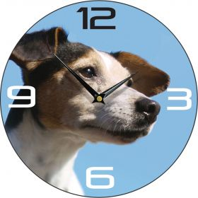 Dog Clock Jack Russell