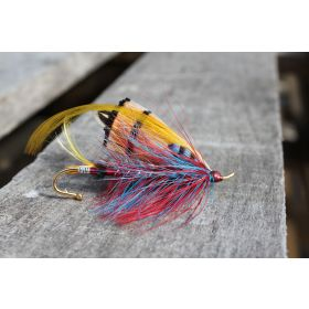 Fishing Flies Brooches Large-Double