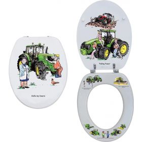 Loo Seat - Tractor by Bryn Parry