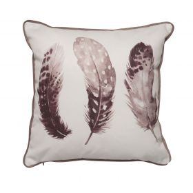 Feather Cushions Dusky Pink