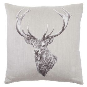 Stag - Tapestry Cushion - 46 x 46