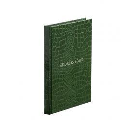 Address Book - Portrait - Green