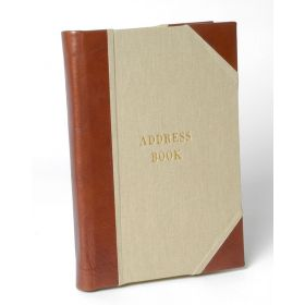 Tuscan Full Bound Leather Address Book