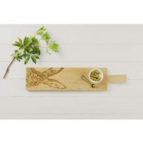 Long Oak Serving Board - Hare