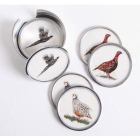 Game Bird Coasters Set of 6