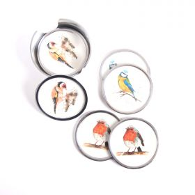 Garden Birds Coasters Set 6