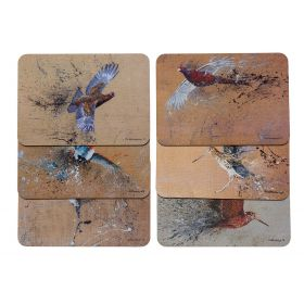 Game Bird Table Mats Set of 6