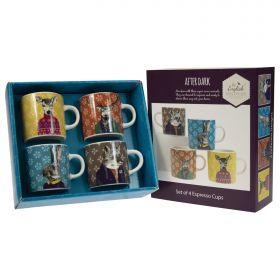 """After Dark"" Woodland - Espresso Cups 4pk"