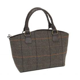 Ladies Tweed Tote Bag