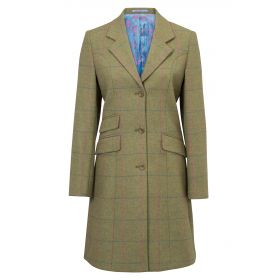 Alan Paine Combrook Mid Length Coat Juniper
