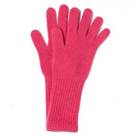 Cashmere Gloves with Long Cuffs Pink