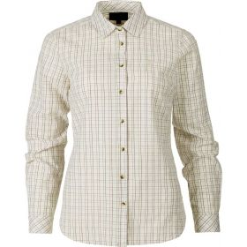 Seeland Ladies Claire Cotton Shirt - Tofu Check