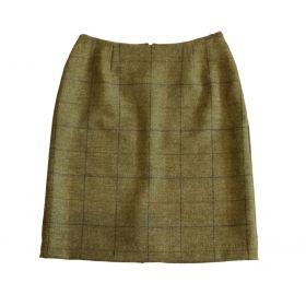 Melissa Pencil Skirt Light - Olive