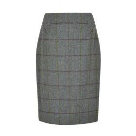 Dubarry Fern knee Length Tweed Skirt Sorrel