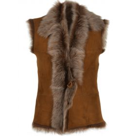 Real Fur and Sheepskin Gilet