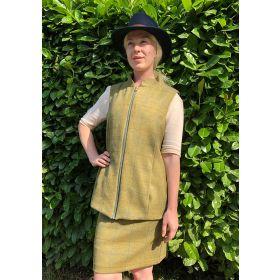 Melissa Tweed Gilet Light Olive